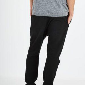 black-double-knit-gym-pant-usa