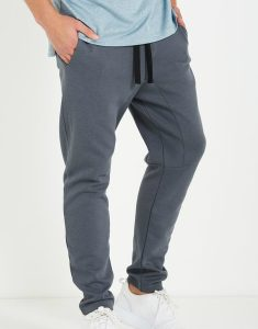 Buy Dark Grey Double Knit Gym Pant From Gym Clothes Store in USA & Canada