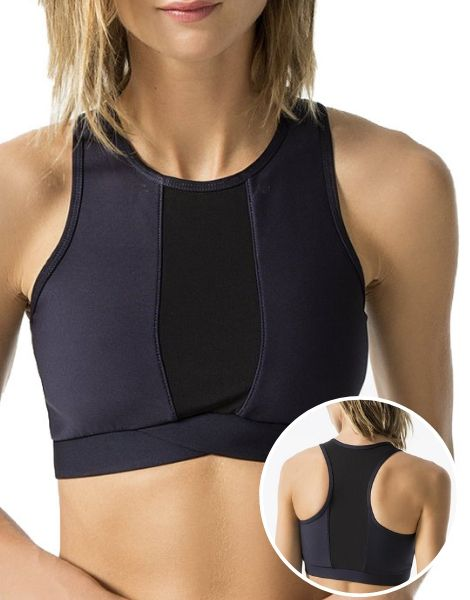 Four Way Stretchable Compression Sports Bra Manufacturer
