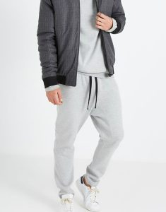 Buy Grey Double Knit Gym Pant From Gym Clothes Store in USA & Canada