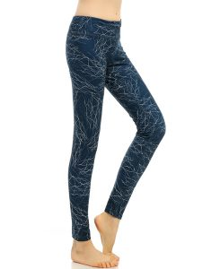 High Rise Elastic Funky Gym Leggings Online