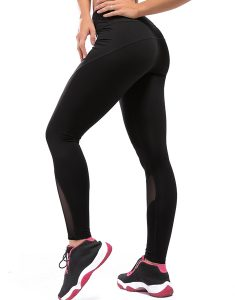 High Waist Compression Mesh Workout Leggings Online