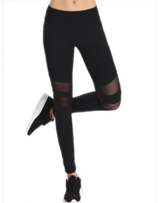 mesh-spliced-sporty-leggings-black-usa