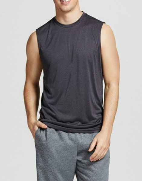 mens-sleeveless-charcoal-tank-tee-china