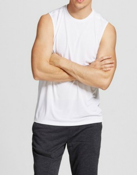 mens-sleeveless-white-tank-tee