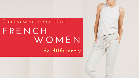 3 Activewear Trends That French Women Do Differently