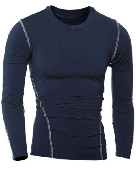 Buy Grey Full Sleeve Tees for Men From Gym Clothes Store in USA & Canada