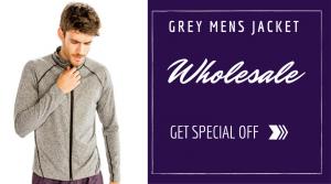 Grey Jackets Wholesale