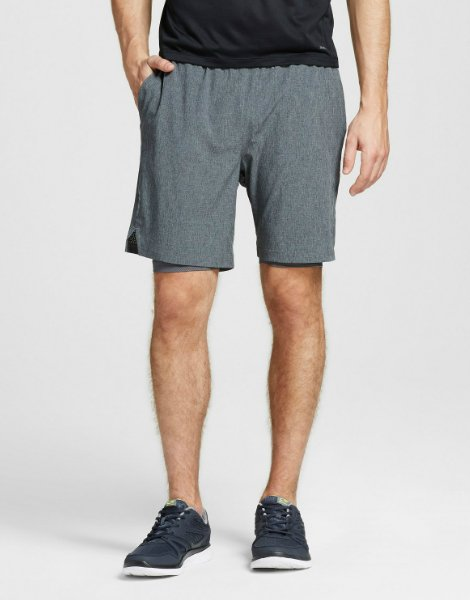 2-in-1 Running Shorts For Men
