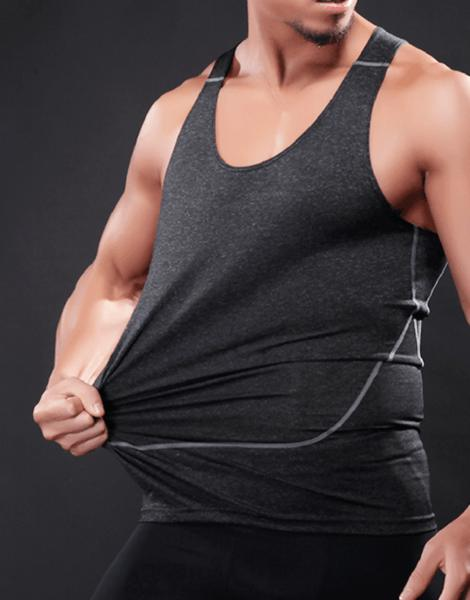 breathable sleeveless fitness tank top