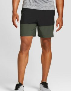 Color Blocked Fitness Shorts