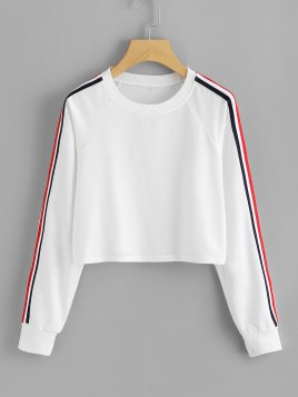 stripe-tape-fitness-pullover