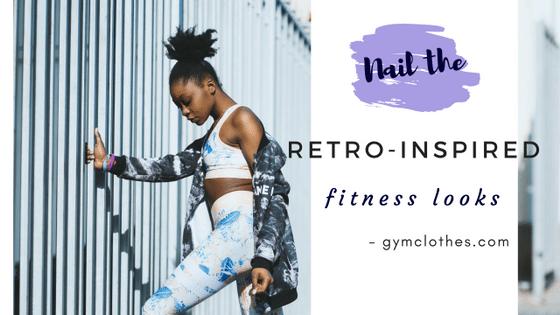 Nail The Retro-Inspired Fitness Looks In Printed Leggings, Turtlenecks, Plaids