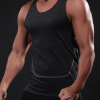 breathable sleeveless fitness tank top usa