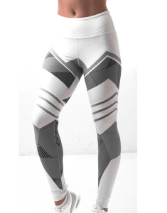 High Waist Printed Slim Ankle Fitness Leggings Australia