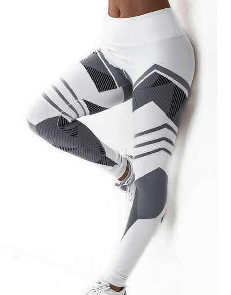 High Waist Printed Slim Ankle Fitness Leggings Manufacturer