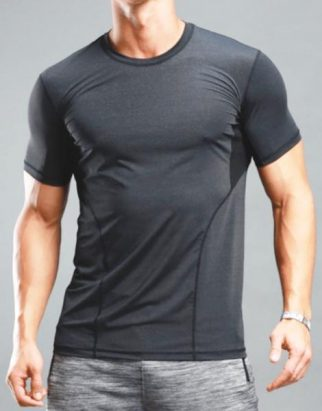 Quick Dry Short Sleeve Workout Clothing USA