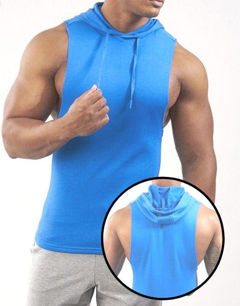 Custom Breathable Hooded Workout Stringer Manufacturer