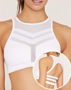 Padded Dry Fit Mesh Sports Bra Manufacturer