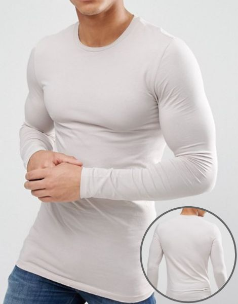 Crew Neck Muscle Fit Full Sleeve Manufacturer