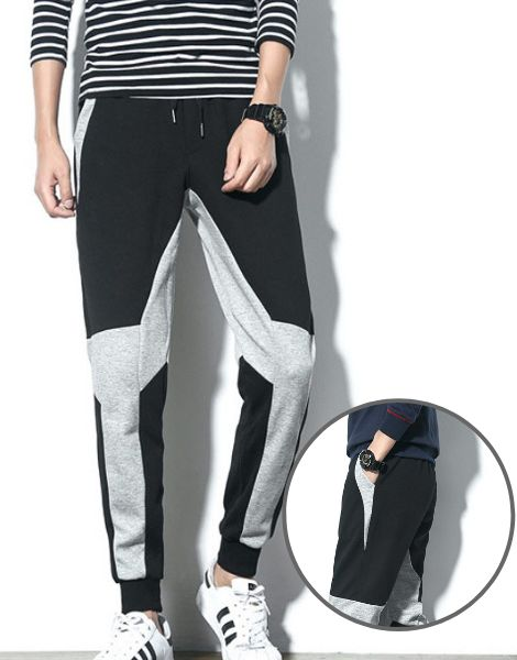 Custom Color Block Workout Joggers Manufacturer