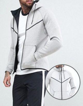 Custom Fleece Hooded Jacket Manufacturer
