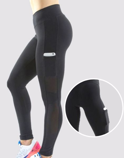 High Waist Custom Fitness Leggings Manufacturer