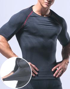 Short Sleeve Compression Sportswear Manufacturer