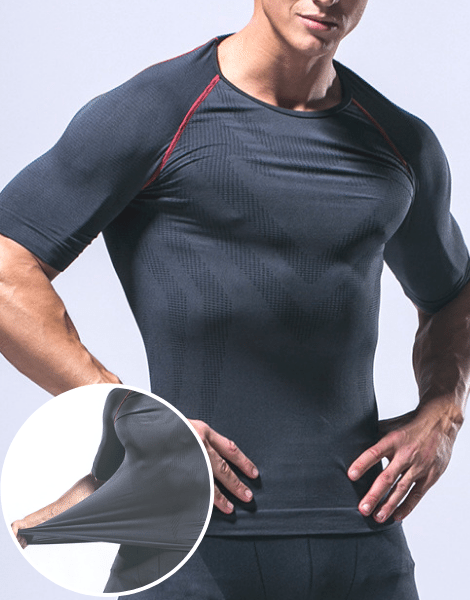 Short Sleeve Compression Sportswear Manufacturer