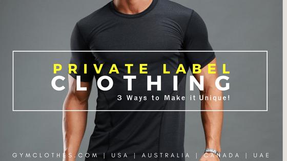 unique private label fitness clothing