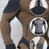 Dual Color Oblique Full Zipped Fitness Jackets AU