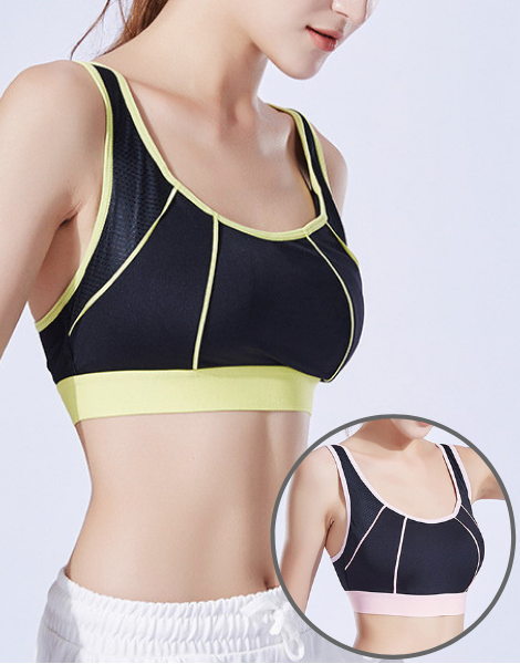 Fluorescent Colored Shockproof Sports Bra Manufacturer USA