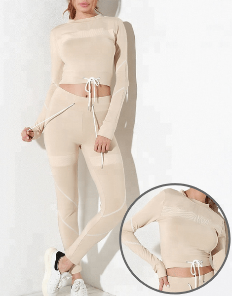 Long Sleeve Activewear Set Manufacturer USA