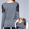 Full Sleeve Scoop Neck Tshirts Manufacturer USA