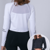 Long Sleeve Sports Crop Top Manufacturer USA