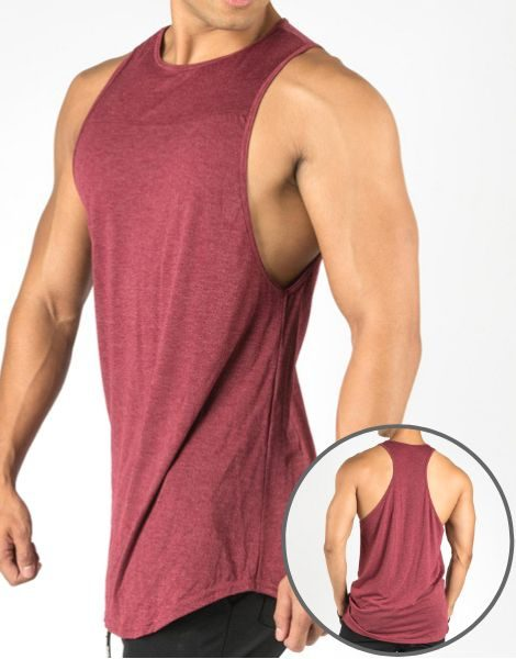 dd63f662e0a031 Wholesale Muscle Drop Workout Tank Top From Gym Clothes
