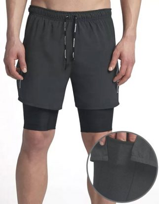 High Quality 2 in 1 Fitness Short Wholesale