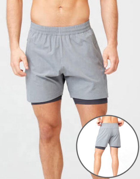 Stretchable Mens Gym Shorts Manufacturer USA