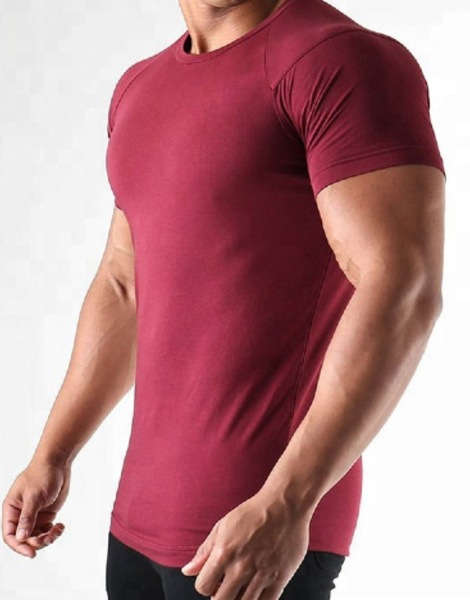 Wholesale Flexible Fitness Tee Shirts Manufacturer