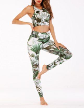 Printed Yoga Set Manufacturer UAE