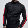 Wholesale Polyester Active Track Suit With Side Stripes