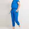 Wholesale Blue Hooded Tracksuit For Women AU