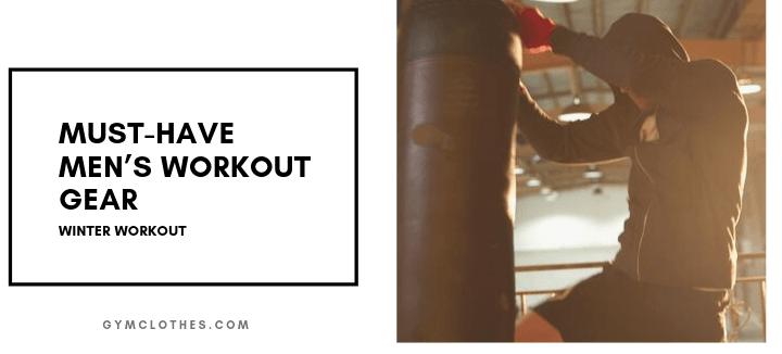 mens winter gym clothes