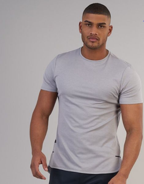 Wholesale Dri-Fit Scoop Bottom Fitness Tshirts Manufacturers