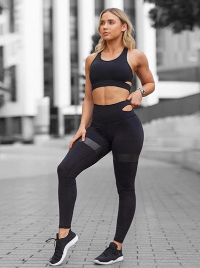 Women gym clothing wholesale