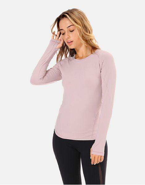 Wholesale Spandex Inner Thumb Hole Full Sleeve T-shirt