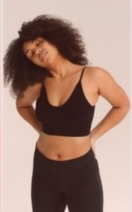 Dry Fit Plus Size Sports Bra